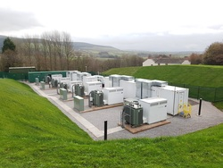This is an example of an NEC energy storage project completed in December of 2017 in Cleator, UK