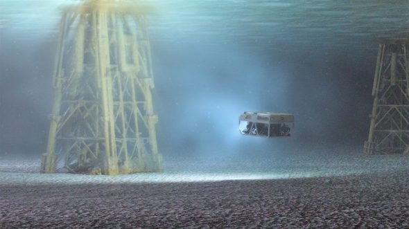 Bristol-based subsea surveying firm Rovco's cutting-edge subsea robotic systems provide offshore wind owner/operators with a clearer picture of their assets. (Image: ORE Catapult/Rovco)