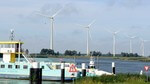 Construction of Windpark Spui in South-Holland, the Netherlands