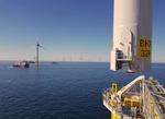 Borkum Riffgrund 2: Erste 8-Megawatt Turbine erfolgreich in der deutschen Nordsee installiert