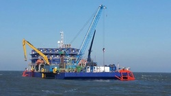 CWind's dedicated power cable repair barge, the ASV Pioneer (Image: CWind)