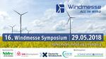 16. Windmesse Symposium 2018: Programm, Ausstellung, Teilnehmer
