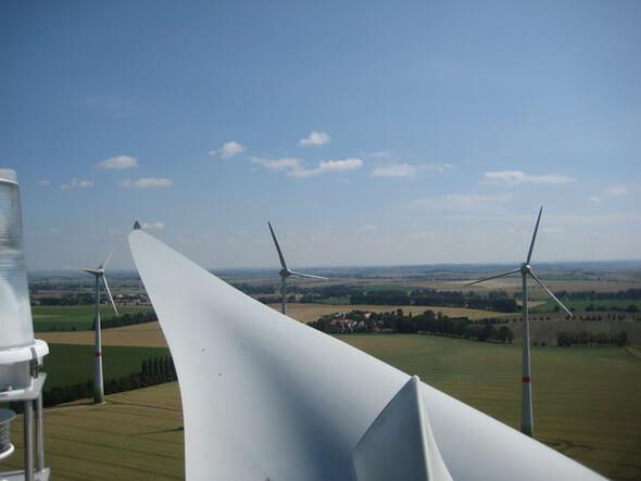 Windpark Lommatzsch (Bild: VSB Holding GmbH)