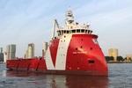 Neues Versorgungsschiff von Vroon getauft