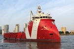 New Platform-Supply Vessel Christened by Vroon