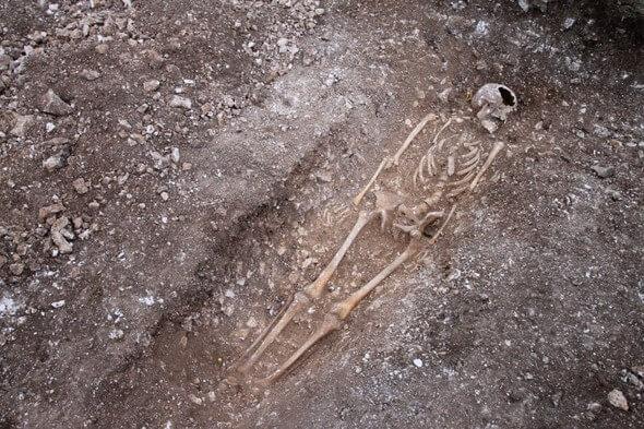 Der Mann starb eines gewaltsamen Todes (Alle Bilder: E.ON)