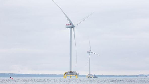 Nissum Bredning Vind brings offshore innovations to life (Image: Siemens Gamesa)