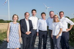 300 Besucher bei Windpark-Eröffnung
