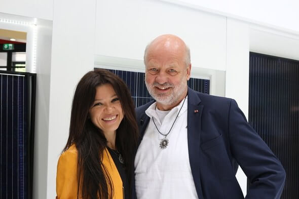 Ruslana und Hans-Josef Fell (Bild: Gero Reuter)