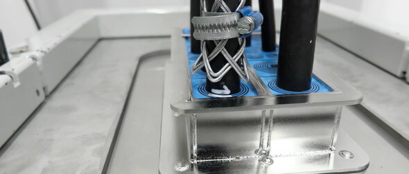 Roxetc cable retention test (All images: Roxtec)