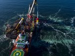 Erster Rammschlag für den Trianel Windpark Borkum II