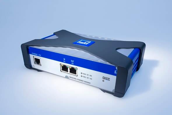 Das neue Gateway-Modul QuantumX CX27C ermöglicht das Testen und die Integration von bis zu 199 Sensoren an PROFINET IRT (Bild: HBM)