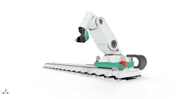 Bearbeitungsroboter Flexmatik (Bild: © Fraunhofer IFAM)