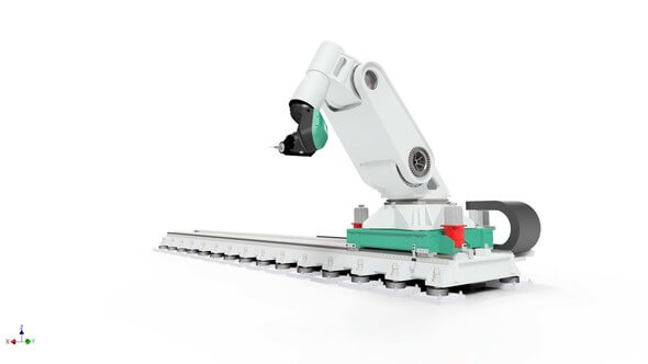 Machining robot Flexmatik. (Image: © Fraunhofer IFAM)