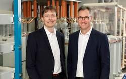 Links Dr. Thomas J. Schöpf (CTO); rechts: Dr. Philipp Dehn (CEO) (Bild: DEHN)