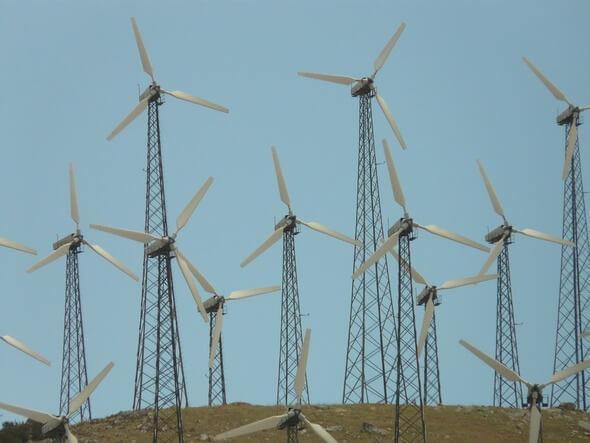 Ein Windpark älteren Datums (Bild: Pixabay)