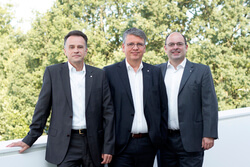 The SAERTEX Global Executive Board: Dietmar Möcke, Christoph Geyer, Dr. Guido Kritzler (from left to right)