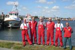 Suche nach Besatzung von überfälligem Vermessungsschiff findet glückliches Ende