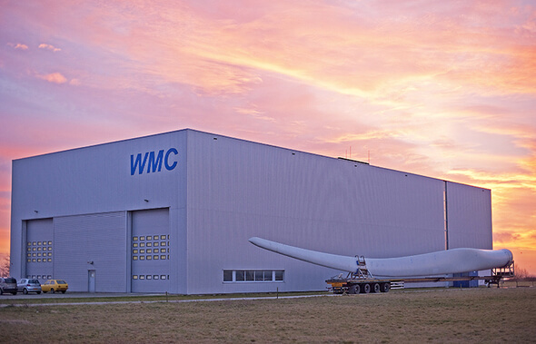 Facility will test rotor hubs for GE blades and offer a range of testing services to other industry partners ()Image: LM Wind Power