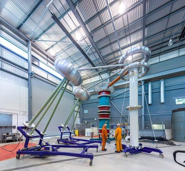 ORE Catapult's HV Electrical Laboratory