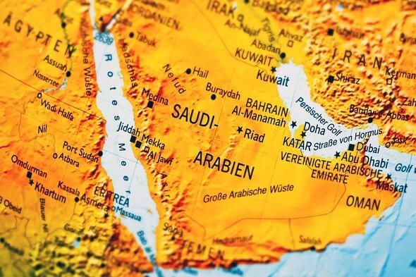 Saudi Arabia (Image: Pixabay)