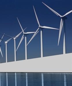 Sechs große Offshore-Windpark-Projekte sind zurzeit in Entwicklung und sollen gegen 2020 den Betrieb aufnehmen (Bild: DR/Business France)