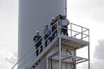 Offizielle Schlüsselübergabe für Windpark-Erweiterung