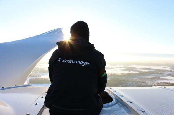 Windpark_management in Finnland (Bild: wpd windmanager)