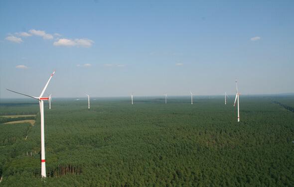 Der von ABO Wind projektierte Windpark Uckley-Nord ist schon seit 2016 Teil des TEE-Portfolios (Bild: ABO Wind)