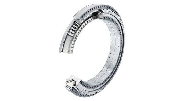 Schaeffler bietet sein FAG-Flanschlager zur Lagerung des Rotors nun als abgestimmtes System bestehend aus kompakter Lagereinheit, Schmierstoff und Sensorik an. Verschiedene Sensoren können zur Überwachung im Betrieb eingesetzt werden (Bild: Schaeffler)