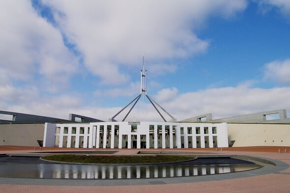 Parliament in Canberra, the Australian government (Image: Pixabay)
