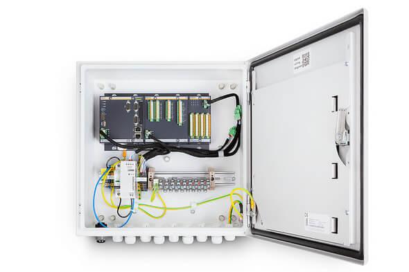 Durch die Integration der Funktionalitäten in ein einziges System wird die bestehende Kommunikations- und Sicherheitsinfrastruktur mitgenutzt (Bild: Bachmann)