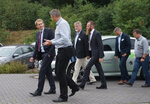 Ministerpräsident Daniel Günther besucht den GreenTEC Campus in Enge-Sande