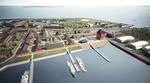 Offshore-Quartier im Borkumer Hafen: neuer Wohnraum für Service-Mitarbeiter der Windparks auf See