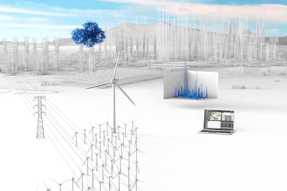 Windenergie 5.0: Im digitalen Energiesystem sparen Betreiber Kosten, wenn fünf Komponenten der Automatisierung harmonisch zusammenarbeiten (Bild: Bachmann electronic GmbH)