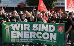Hunderte fordern bei Kundgebung in Aurich: Enercon muss Verantwortung für die Beschäftigten übernehmen