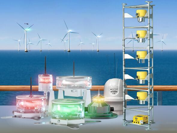 Premiere auf der WindEnergy 2018: Die Quantec Signals präsentiert ihr neues, erweitertes Offshore-Portfolio in Hamburg (Bild: Quantec Signals)