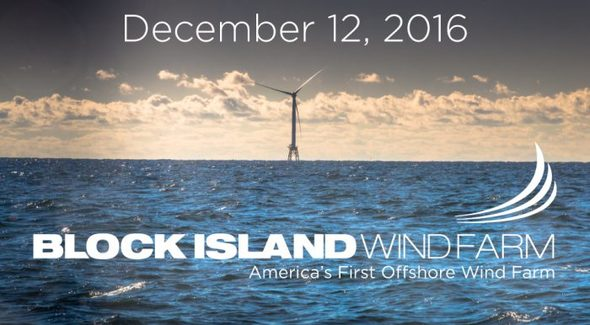Deepwater Wind is responsible for Block Island, the first offshore wind farm in the U.S. (Image: Deepwater Wind)