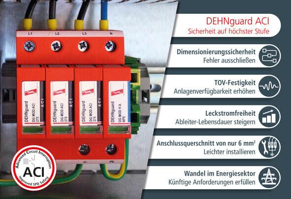DEHNguard mit neuer ACI-Technologie (Bild: DEHN)