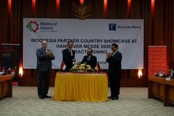 Indonesien wird das Partnerland der HANNOVER MESSE 2020 - Unterzeichnung des Partnerlandvertrags* (Bild: Deutsche Messe)