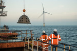 Oysters and artificial reefs for new nature development within North Sea wind farm