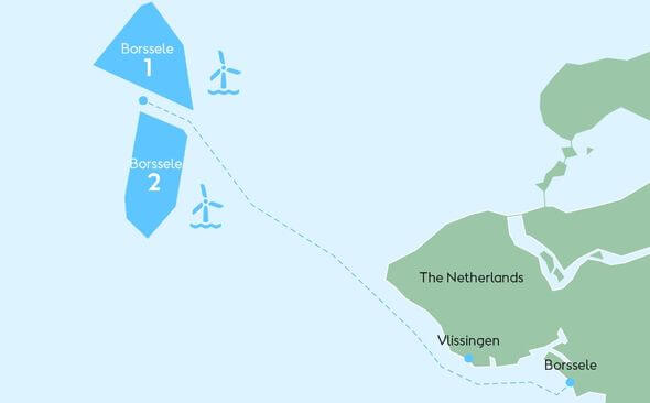 Nexans is awarded a multimillion-euro contract for Ørsted's Borssele 1 and 2 wind farms off the Netherlands coast (Image: Nexans)