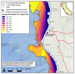 Northern CA coast offshore wind feasibility study