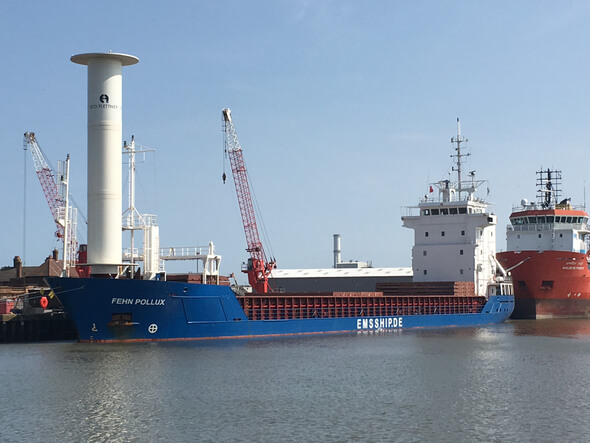 Fehn Pollux in Great Yarmouth (Bild: EMS-Fehn-Group)