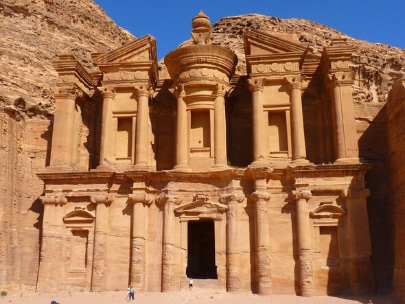 Historical and archaeological city Petra in southern Jordan (Image: Pixabay)