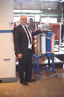 Unter anderem zeigt der Spezialist für Energieverteilung auf den Messen den aktualisierten Sicherungsanbau für Schaltanlagen des TypsTyps ga /gae (Foto: Ormazabal GmbH)