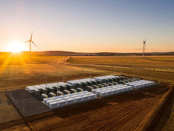 Das Hornsdale Power Reserve-Projekt in Südaustralien (Bild: Hornsdale Power Reserve)