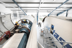 The Training Center ensures the multi-brand service quality of Deutsche Windtechnik in the long term. (Image: Deutsche Windtechnik)