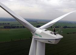 Betriebsführung für aventron in Wölkisch (Sachsen) an 6 Windenergieanlagen des Typs Senvion MM92, die von VSB geplant und errichtet wurden (Inbetriebnahme 2015) (Bild: VSB)