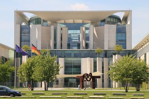 Das Kanzleramt in Berlin (Bild: Pixabay)